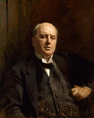 Sargent portrait of Henry James
